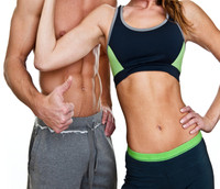 Image of a couple on a fat loss program.
