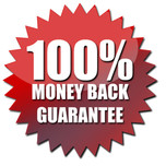 Money-Back Guarantee Logo for Singapore Fitness Services.